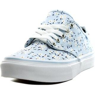 Vans Camden Deluxe Women Round Toe Canvas Sneakers