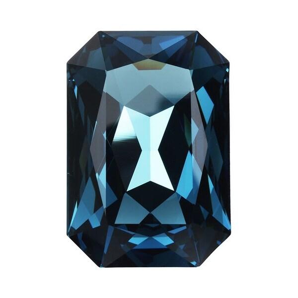 Swarovski Elements Crystal, 4627 Octagon Fancy Stone 27x18.5mm, 1 Piece, Montana F