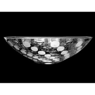 """Dale Tiffany GA80521 13"""" x 3.75"""" Festival Crystal Bowl - Clear"""
