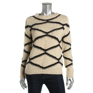 Essentiel Womens Knit Mohair Pullover Sweater - XS