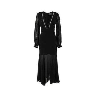 Keepsake The Label Eyes Black Maxi Dress