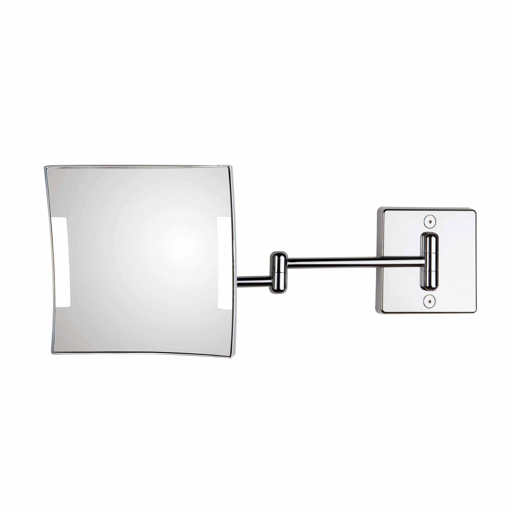 WS Bath Collections Quadrololed C60/2 KK3  Quadrolo 7-9/10W x 7-9/10H Wall Mounted Magnifying Mirror with LED Light