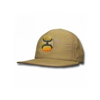 HOOey Hat Mens Lightweight Adjustable Soft One Size Khaki