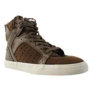 Supra Womens Skytop Brown/Brogue/Bone Fashion Shoes Size 8