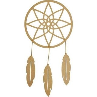 Beyond the Page MDF Dream Catcher Wall Art