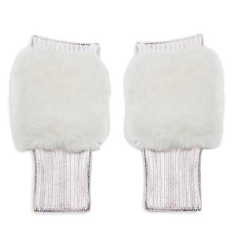 Jocelyn Womens Silver Gloves