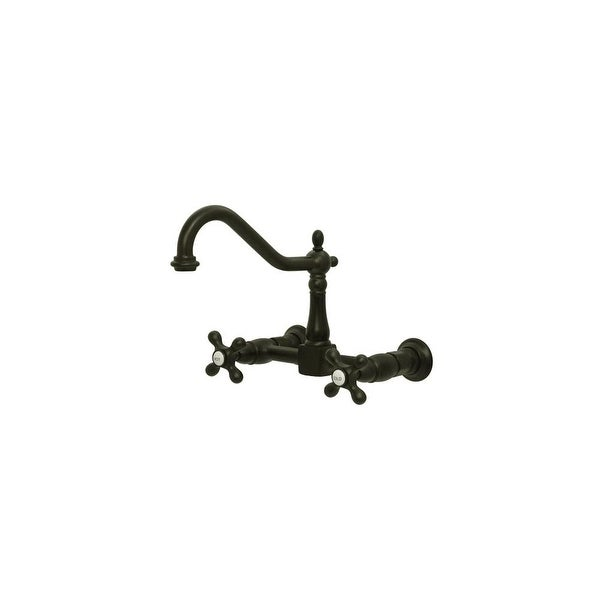 Shop Elements Of Design Es1245ax Double Handle 8 Center Wall