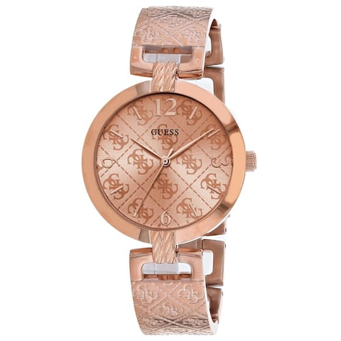 Guess Women's G Luxe Rose gold Dial Watch - W1228L3 - One Size