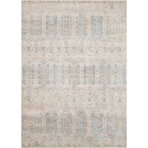 "Alexander Home Malina Distressed Traditional Tribal Persian Rug - 9'6"" x 12'5"""