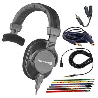 Link to Beyerdynamic DT 252 80 Ohm Closed Dynamic Headphones Bundle with Similar Items in Headphones