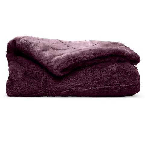 Super Comfy North Branch Series Fur Throw