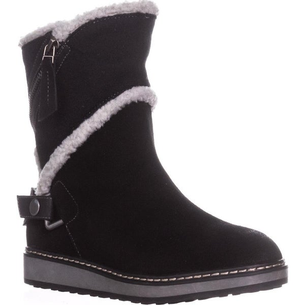 White Mountain Teague High Top Snow Boots, Black