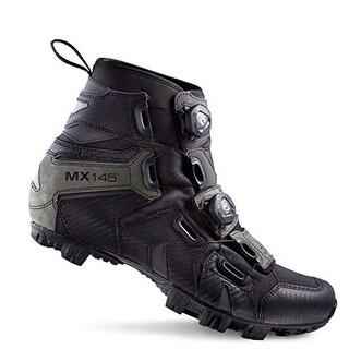 Lake Men's Black MX145 Winter Boots Size 36