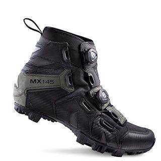 Lake Men's Black MX145-X Wide Winter Boots Size 40