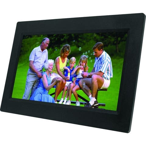 Naxa nf1000 10.1 digital photo frame - Black