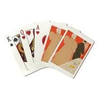L'Argent (Toulouse Lautrec) 1895 - Vintage Ad (Poker Playing Cards Deck)
