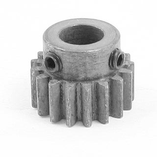 Gray Metal 8mm Inner 17 Teeth Brushless Motor Axial Pinion Gear for RC Model