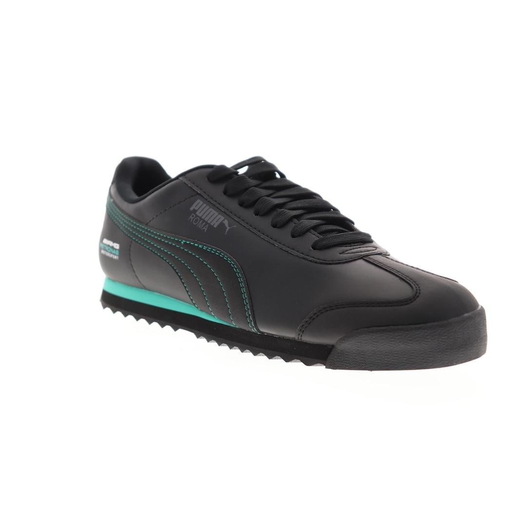 puma mercedes shoes black