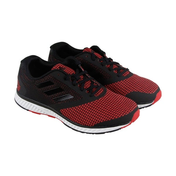 Adidas Edge Rc M Mens Black Mesh Athletic Lace Up Running Shoes