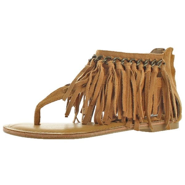 Not Rated Keep The Peace Women's Faux Suede Sandals