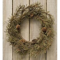 """Country Pine Wreath, 12"""""""