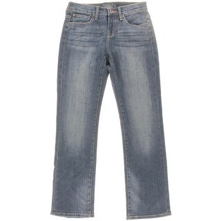 Lucky Brand Womens Easy Rider Relaxed Fit Mid-Rise Bootcut Jeans