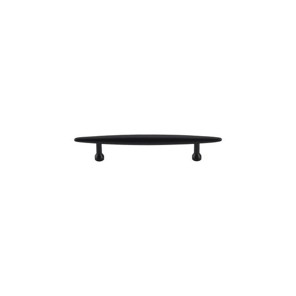 Top Knobs M852-96 Nouveau 3-3/4 Inch Center to Center Bar Cabinet Pull - Flat Black