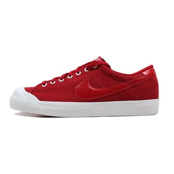 Nike Men's All Court Canvas Varsity Red/Varsity Red-White 417721-600