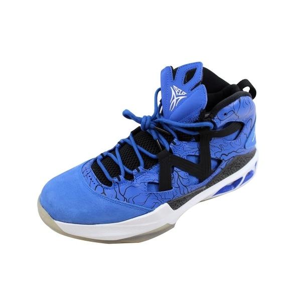 buy online f32f3 b85fd Nike Men  x27 s Air Jordan Melo M9 Game Royal White-Black