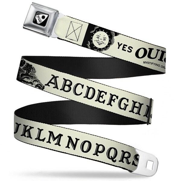 Ouija Planchette Full Color Black White Ouija Board Elements1 White Black Seatbelt Belt