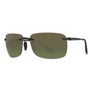 Ray Ban RB4255 621/6O Black Grey Green Polarized Chromance Rimless Sunglasses - 60mm-15mm-135mm
