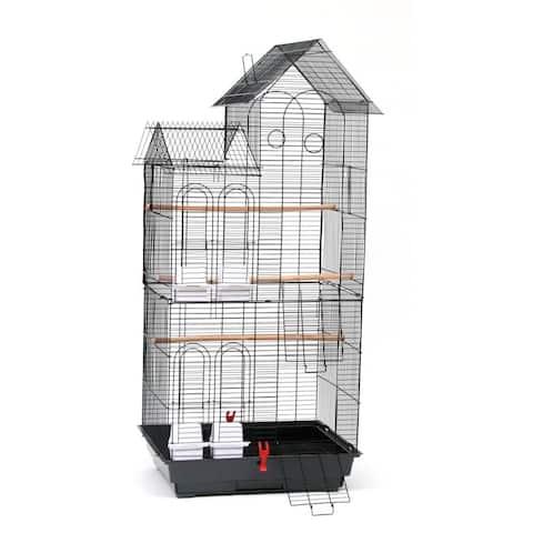 "46"" Bird Cage Pet Supplies Metal Cage"