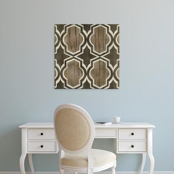 Easy Art Prints June Erica Vess's 'Driftwood Geometry V' Premium Canvas Art