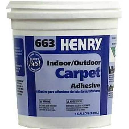 Henry 663-044 Outdoor Carpet Adhesive, Gallon