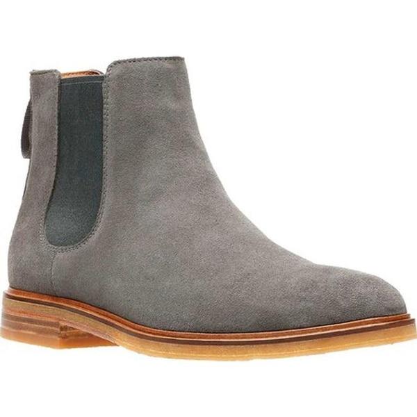 Clarkdale Gobi Chelsea Boot Grey Suede