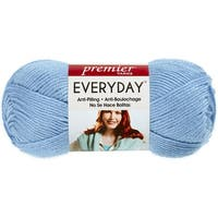 Deborah Norville Collection Everyday Solid Yarn-Baby Blue