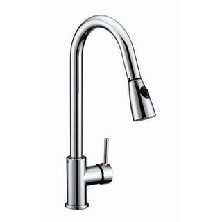 Design House 547869 Pull-Down Spray Gooseneck Kitchen Faucet