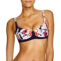 Kate Spade Womens Colombe D'Or Printed Bralette Swim Top Separates