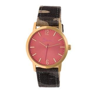 Boum Sauvage Women's Quartz Watch, Nylon Strap