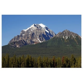 """Mount Temple, Banff Nationalpark, Alberta, Canada"" Poster Print"