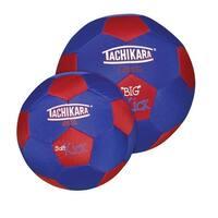 Tachikara 9-3/4 in Big Kick Soccer Ball, Red/Royal Blue