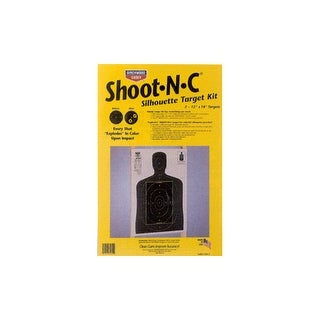 Birchwood casey 34602 b/c target shoot-n-c 12x18 silhouette kit