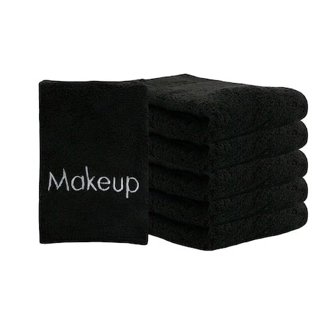 Soft Coral Fleece Microfiber Makeup Remover Cloths (6 Pack) - 13 x 13 in.