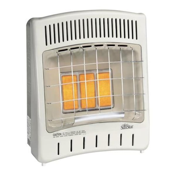 SunStar SC18M-1-NG 18,000 BTU Vent Free Natural Gas Room Heater