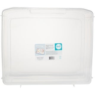 "We R Craft & Photo Translucent Plastic Storage-17""X15""X6"" Case"