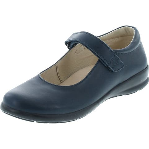 Naturino Girls Fashion Leather School Shoes
