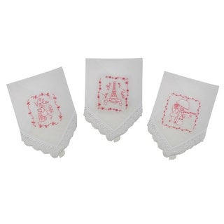 French Collection Handkerchief Set