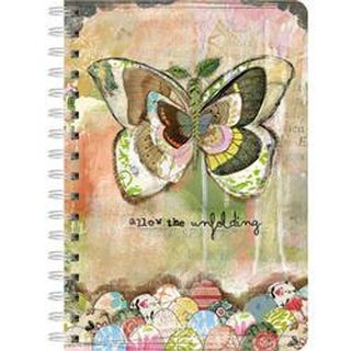 """Allow The Unfolding - Spiral Journal 6""""X8.25"""" 240 Pages"""