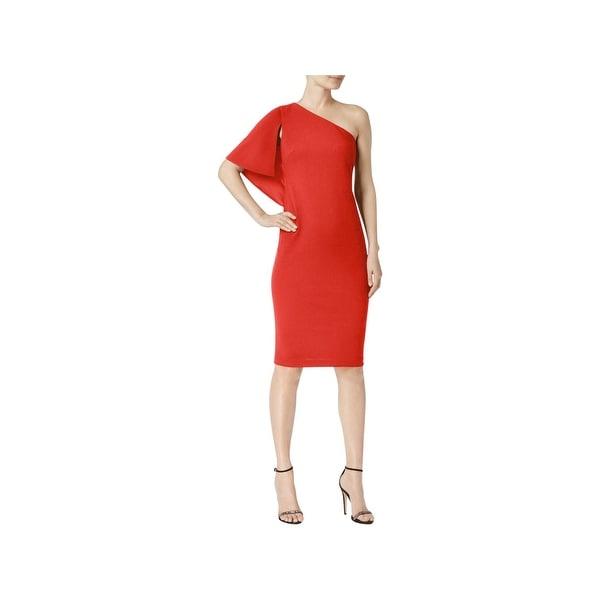 58361657fbb7 Shop Calvin Klein Womens Cocktail Dress Party One Shoulder - Free ...
