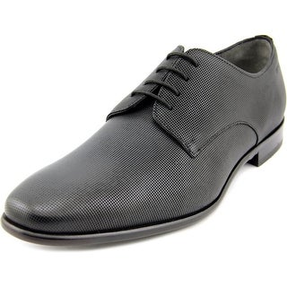 Boss Hugo Boss C-Hureb Men  Square Toe Leather Black Oxford